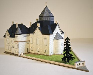 Alsfeld Synagoge Modell